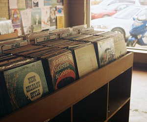 vintage, music, and record image