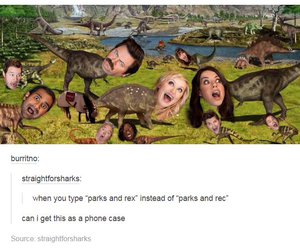 lol, parks and recreation, and chris pratt image