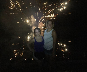 firework, fourth of july, and friends image