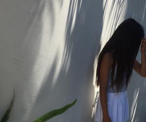 aesthetic, girl, and tennis skirt image