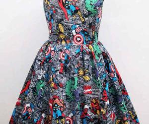 dress, Marvel, and Avengers image