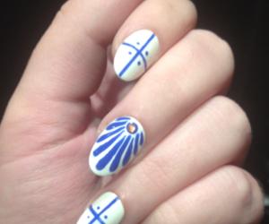 elegant, manicure, and nails image