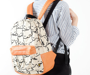 asian, style, and backpack image