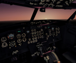 cockpit, romantic, and fly image
