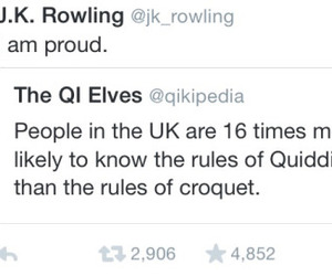 harry potter, quidditch, and twitter image