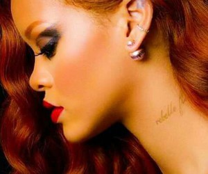 beautiful, fiery, and redhair image