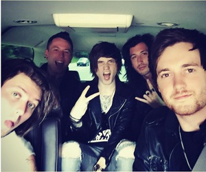 aa, asking alexandria, and james cassells image