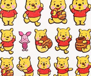winnie the pooh, piglet, and hunny image