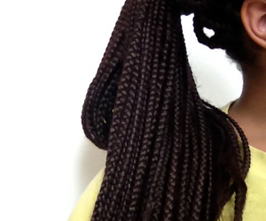 Afro, beautiful, and braids image