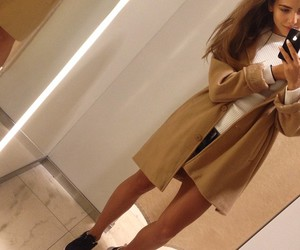 coat, ootd, and fashion image
