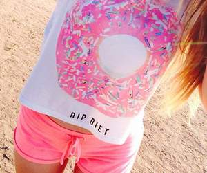 beautiful, clothes, and donut image