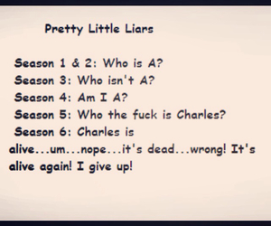 pll, who is charles, and who is a image