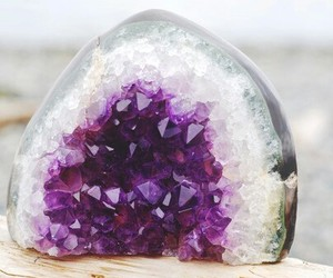 purple and crystal image