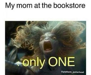 book, funny, and mom image