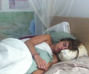 bed, cole sprouse, and cute image