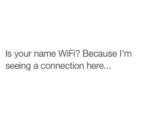 wifi, connection, and love image