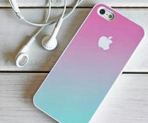 iphone, apple, and pink image