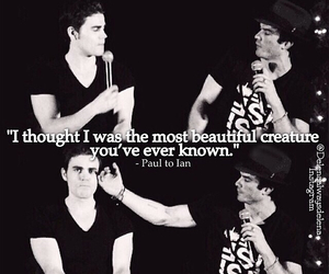 ian somerhalder and paul wesley image