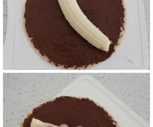 banana, nutella, and diy image