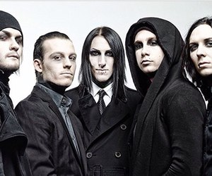 motionless in white, josh balz, and chris cerulli image