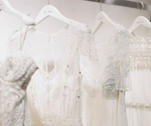 dress, goals, and wedding image