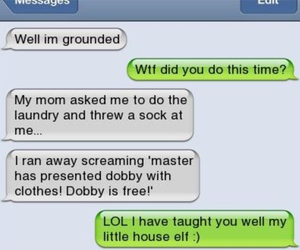 harry potter, dobby, and funny image