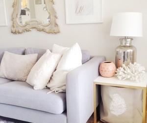 decor, elegant, and pillows image