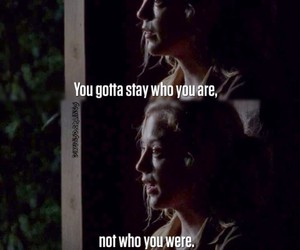 quote, stay, and the walking dead image