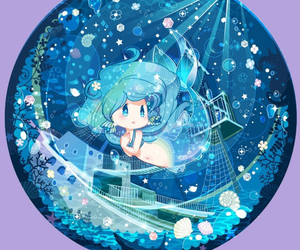 blue and princess image
