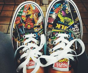 vans, comic, and Marvel image