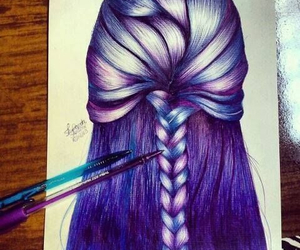 amazing, art, and hair image