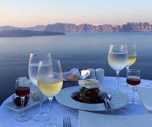 sea, food, and luxury image