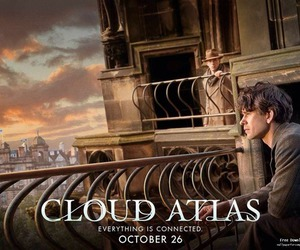movie, poster, and cloud atlas image