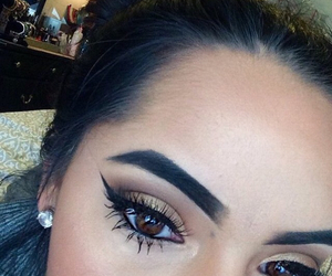 beauty, hair, and eyebrows image