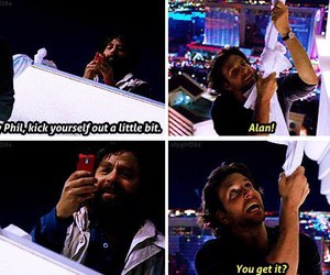 Zach Galifianakis, the hangover, and bradley cooper image