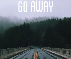 away, dark, and go image