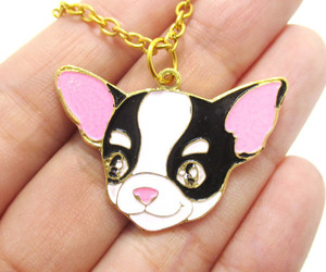 chihuahua, dogs, and jewelry image