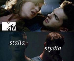 stydia, teen wolf, and stalia image