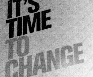 advert, change, and quote image