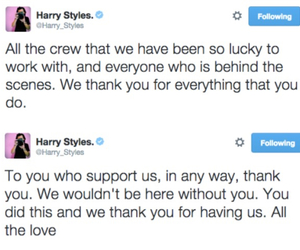 5 years, Harry Styles, and one direction image