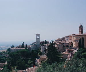 italy, assisi, and photography image