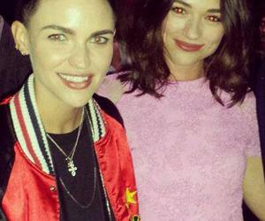 ruby rose, teen wolf, and crystal reed image