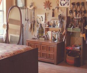boho, bedroom, and bohemian image