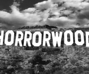 horror, hollywood, and horrorwood image