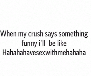 crush, quote, and funny image