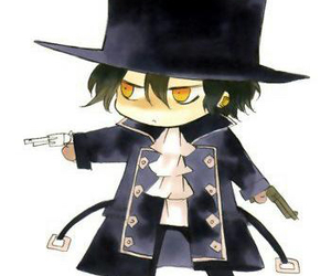 pandora hearts, gilbert nightray, and anime image