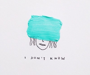 girl, i, and know image