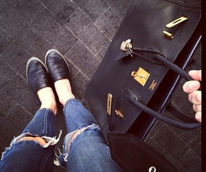 chanel, hermes, and shoes image