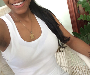 brunette, dominican, and brownskin image