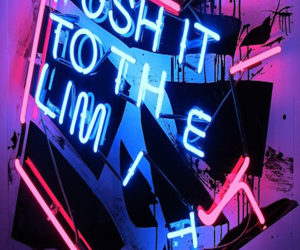 neon, pink, and blue image